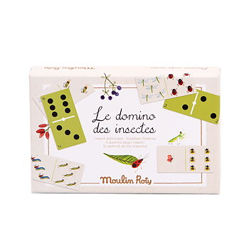 Game Dominos insects Le Jardin