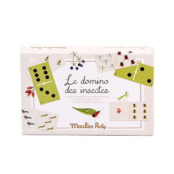 Spel Domino insekter Le Jardin