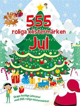 555 roliga klistermärken : jul