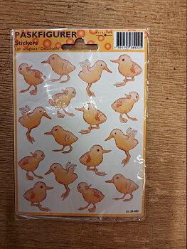 Påskstickers kycklingar