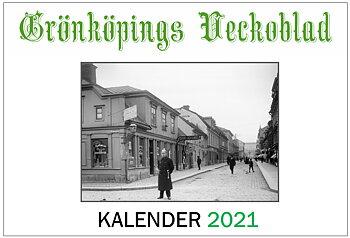 Grönköpings Veckoblad väggkalender 2021