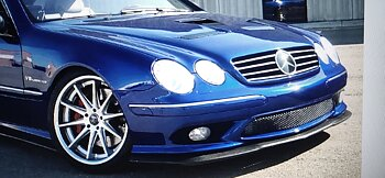 1. CKM front lip CARBON for CL 55 AMG