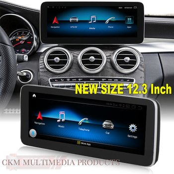"1. w205/glc Comand 12.3"" Android Widescreen touchscreen W205"