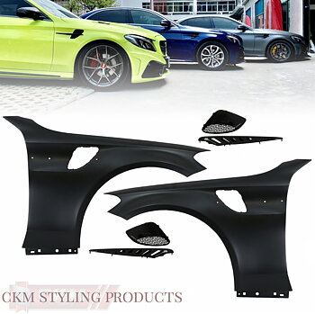 1. GTs-look front fenders 2pcs complete