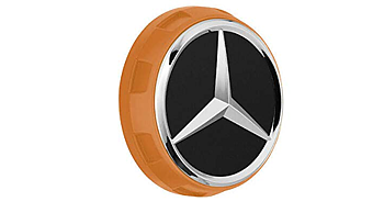 Center cap AMG 1 pcs MB Orginal with chromed star