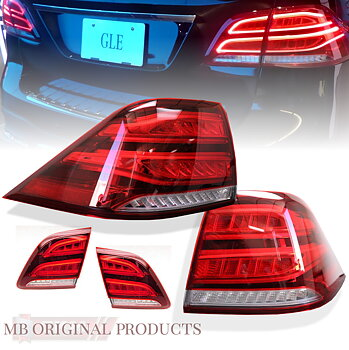 1. full led facelift tail lights w166 4pcs+ adapterkit