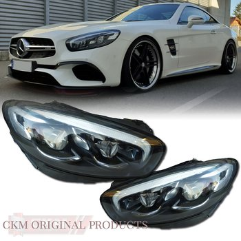 1. Facelift headlights ILS  MB Original 2pc set