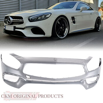 1. Facelift front bumper MB original ILS  2pc set
