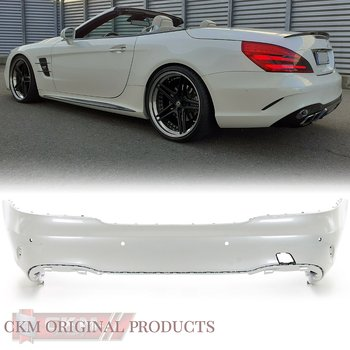 1. Facelift rear bumper MB original ILS  2pc set