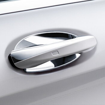 Chrome trim handle OEM 2pcs