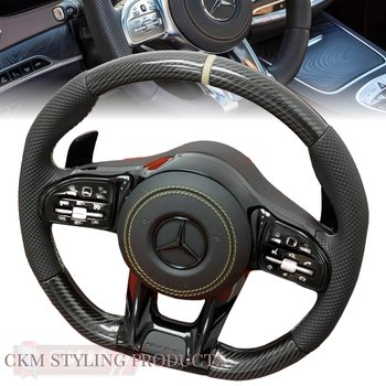 1. Steering sport FACELIFT 2018 style Leather/ Carbon/Piano PLUG N PLAY