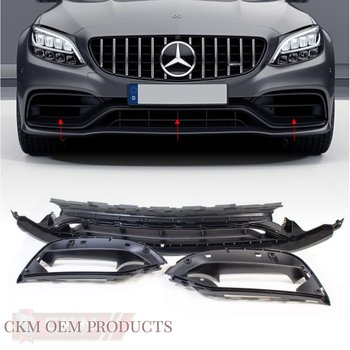 1. Facelift C63 front galler MB Original 3st