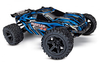 Rustler 4X4 XL-5 1/10 Stadium Truck with Batt/Charger Blue