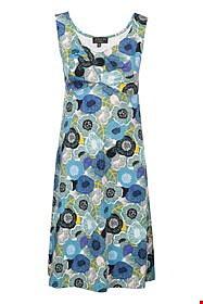 Klänning blåblomster