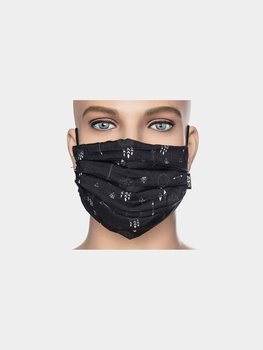 Facemask black/white