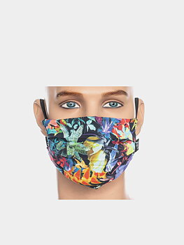 Facemask multi colour