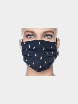 Facemask Dark blue/ little lady