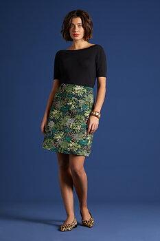 Border Skirt Ricci
