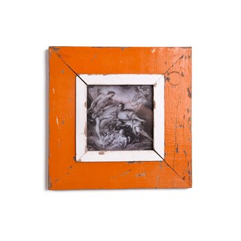 FRAME A5 - Orange red