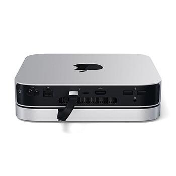 Satechi aluminiumhubb för Mac Mini M1 - Silver