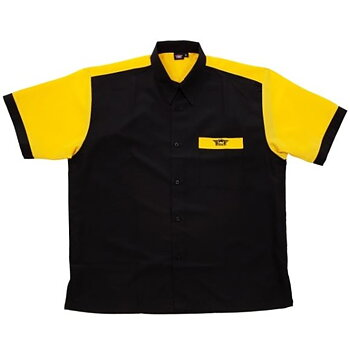 Bulls Dartshirt  Black & Yellow