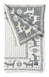 Cat's Blanket - Grey & White