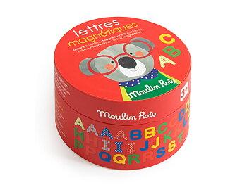 Magneter bokstäver 'Popipop'