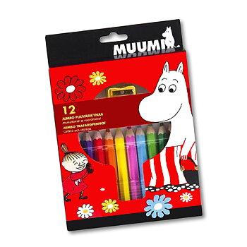 Colored pencils Moomin jumbo