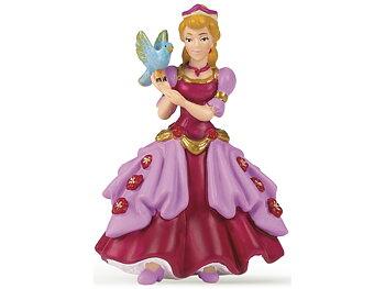 Prinsessa med fågel rosa