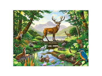 Card 3D Woodland Harmony