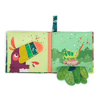 Fabric book Dans la Jungle small