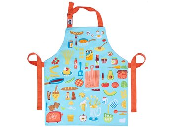 Apron 'Let's cook' cotton canvas