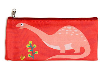 Pencil case 'Dinosaur' matte laminated