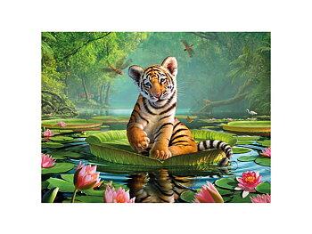 Kort 3D Tiger lily