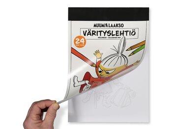Coloring book Moomin A4