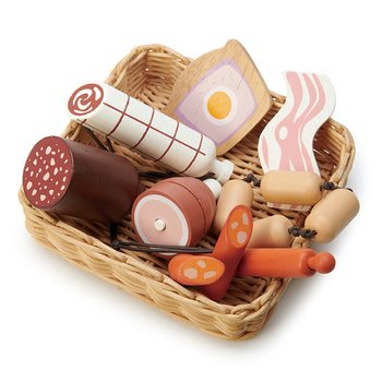 Charcuterie in basket