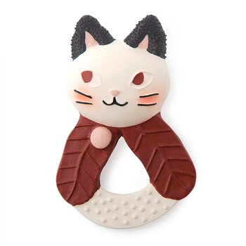 Teether Cat rubber