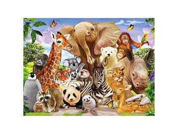Kort 3D Vilda djurungar