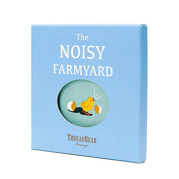 Fabric book Noisy farmyard