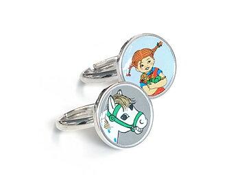 Rings Pippi & Horse