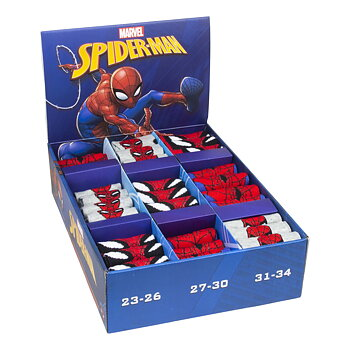 Spiderman strømper 1 par