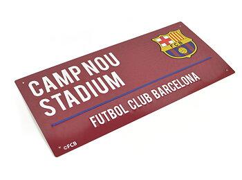 Barcelona Metallskilt