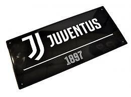 Juventus Metallskilt