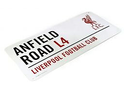 Liverpool Metallskilt