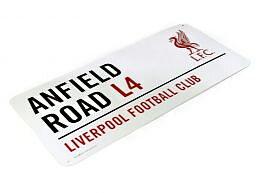 Liverpool Metallskilt