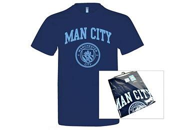 Manchester City t-skjorte (Voksen)