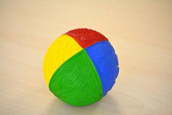 Känselboll helgjuten välj färg WS