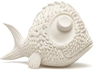 Fisk vit helgjuten