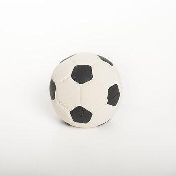 Fotboll i naturgummi 7 cm