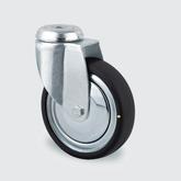 Hjul ESD, 100 mm med bygel utan broms